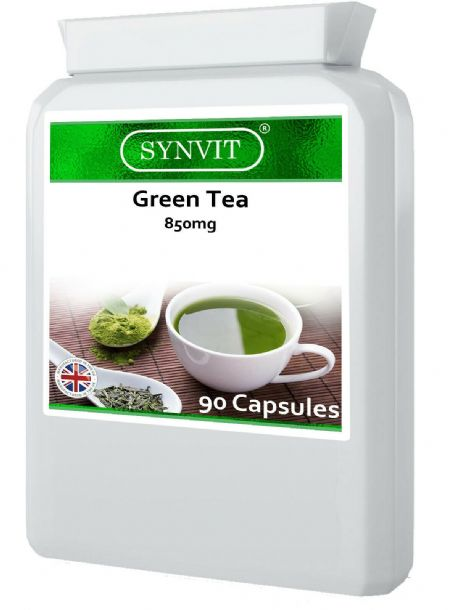 Green Tea 850mg 90 Capsules; Antioxidant; SYNVIT